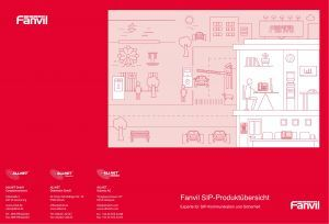 Fanvil Produkt Broschüre