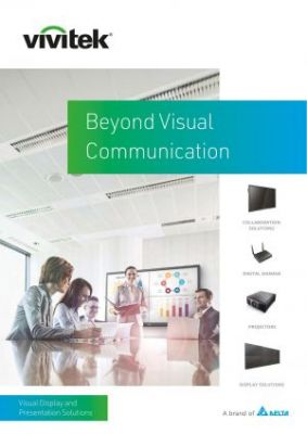 Vivitek Beyond Visual Communication Visual Display